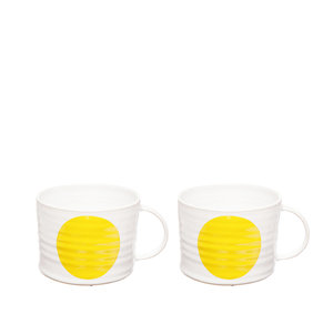 DOT yellow cup X2