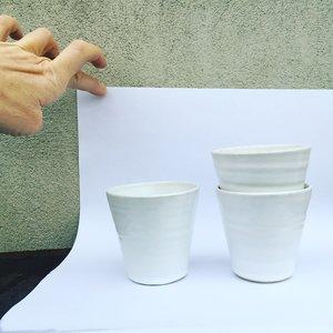 TINA kaffekopp vit X2