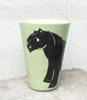 BYRACKAMUGG  ponny med cutie mark