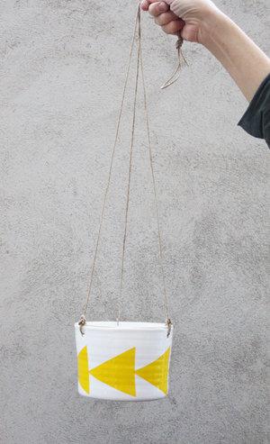 ZIGGE - large hanging pot