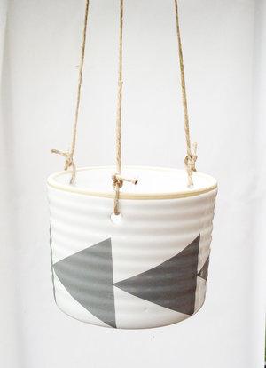 ZIGGE - medium hanging pot