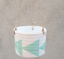 ZIGGE - medium hanging pot