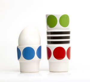 EGGCUPS red dots X2