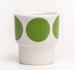 EGGCUPS green dots X2