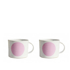 DOT pink cup X2