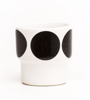 EGGCUPS black dots X2