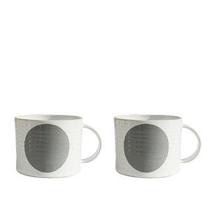 PRICK grå kopp X2