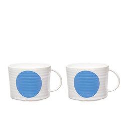 DOT blue cup X2