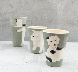 ANIMALCUP  x 4 - gift set