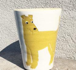 BYRACKAMUGG Irländsk terrier