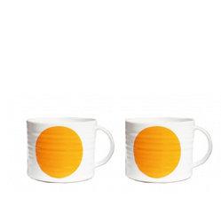 DOT orange cup X2