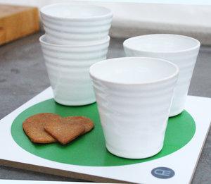 TRIVET + 4 TINA cups