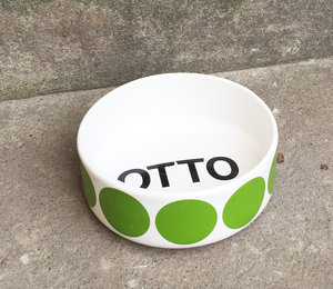 FIDO  bowl with name