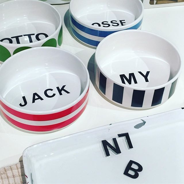 Bowl with a name - fits both Children and Pets.