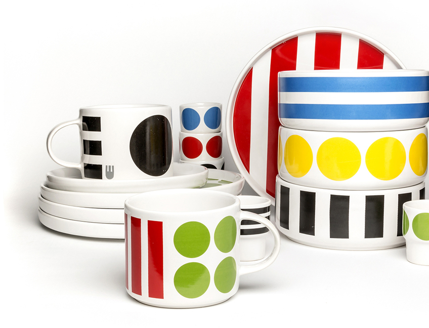 DIDO - the stoneware collection for breakfast and tea-time!